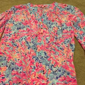 ☀️Lilly Pulitzer Elsa blouse